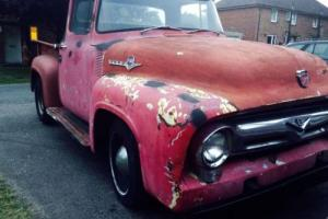 1956 Ford F100 Pick Up Truck, Hot Rod, V8