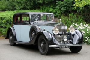 1935 Rolls-Royce 20/25 H J Mulliner Sports Saloon GOH15