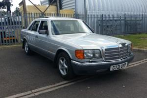 48000 genuine Mls Mercedes 300SE W126 300 SE w 126 auto automatic not w124 300E Photo