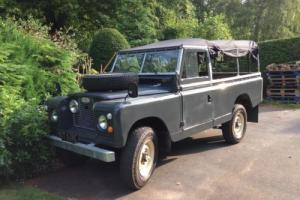 Land Rover Series 2a 109 - 1965 Tax Exempt - Rebuilt on Galv Chassis & Bulkhead