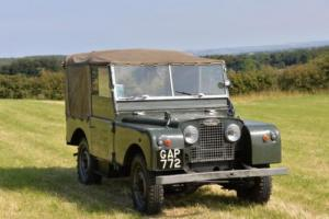 "Land Rover Series 1 80"" 1952 GAP 772 Iceland Expedition Photo"
