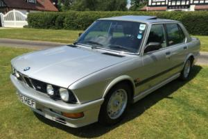 Outstanding original BMW M535i (E28) manual, 1987, warranty, 12M MOT & service