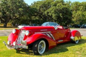 1936 Replica/Kit Makes Auburn 852 Boattail Speedster