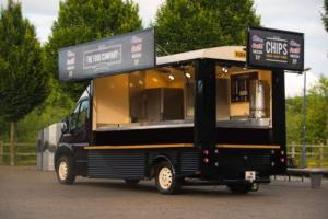 Catering trailer burger van ,street food,fast food,not bar,modern citroen hy van Photo