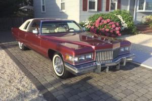 1975 Cadillac DeVille Coupe VeVille Photo