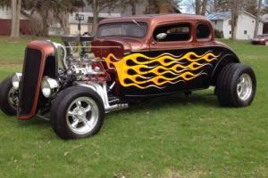1934 Chevrolet 5 window coupe