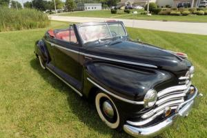 1948 Plymouth Special Deluxe Roadster Special Deluxe Convertible