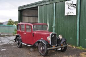 AUSTIN 12/6 12 6 1934 6 cylinder vintage project