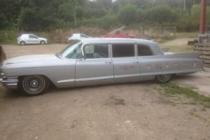 1962 cadillac limousines two ! and spares matching pair taxi business chevrolet