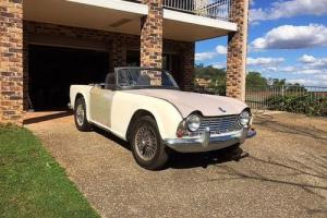 Triumph TR4 Convertible 1962 Rare Classic Collectible Vintage Sport Coupe in NSW