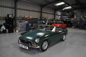 MG ROADSTER 1971, TAX EXEMPT, GREAT PROJECT, GREEN, ROSTYLES