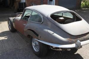 jaguar e type S2 Fixed Head Coupe for restoration