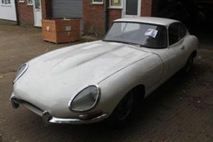 jaguar e type S1 Fixed Head Coupe for restoration