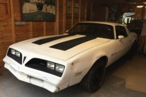 Pontiac Firebird V8 American Classic Muscle Project Car / Barn Find - NO RESERVE