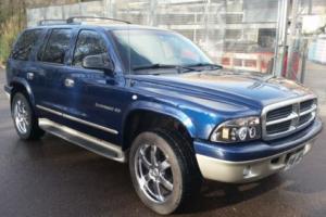 2001 DODGE Durango 4x4 SLT petrol/lpg