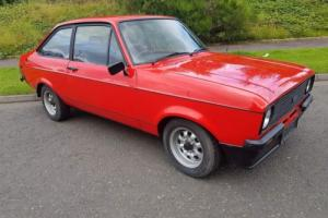1980 FORD ESCORT 1600 SPORT RED - VERY GOOD LOOKING CAR