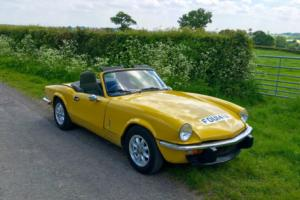 1981 TRIUMPH SPITFIRE 1500 YELLOW Photo