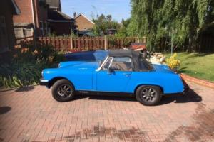 MG MIDGET 1500 1983 REALLY GOOD CONDITION