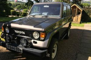 1988 TOYOTA LANDCRUISER II LJ70 GREY with 4000cc V8 PETROL V8 ENGINE