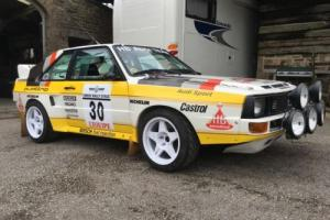 Audi sport quattro S1 rally car