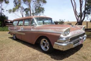 1958 Ford Country Sedan Rare Stationwagon V8 Auto Classic Custom Original in VIC