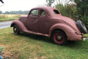 1936 Ford five window coupe ratrod hotrod