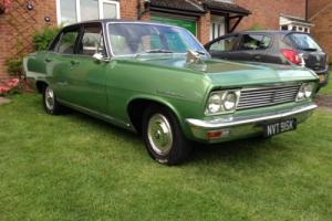 Vauxhall cresta pc delux 3.3 6 cylinder manual green classic car