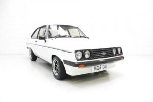 An Enthusiast Owned and Iconic Ford Escort Mk2 RS2000 in Show Condition