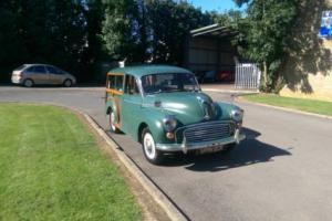 Green Morris Minor 1000 Traveller 1962 Great Condition Tax Exempt 12 Month MOT