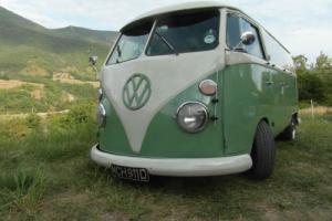 RHD 66 VW Splitscreen Splitty Panel Devon camper / van, vtg accessories, 911 reg