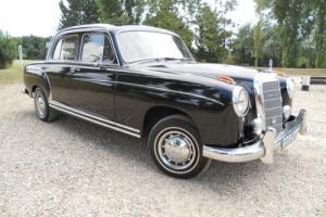 Mercedes 220s 1958. Ponton