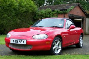 STUNNING 1999 MAZDA MX-5 MARK 2 1.8 47000 MILES  MOT JUNE 2017 Photo