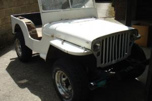 willys jeep ww2 1942 ford script GPW military vehicle classic car