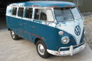 '66 VW Splitscreen camper with patina. Walkthrough. German built USA Import.