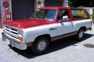 1989 Dodge Ram Charger