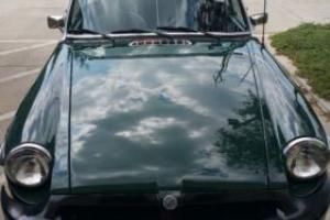 1978 MG MGB 4 barrel sidedraft Weber