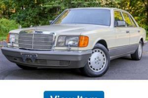 1987 Mercedes-Benz 300-Series 4 Dr Turbodiesel
