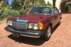 1982 Mercedes-Benz 300-Series CD Coupe, W123, 300cd, turbo diesel