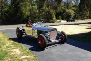 1928 Ford Sports Roadster Lakes Style Modified Flathead Alloy Body in VIC