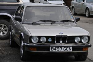 BMW 525 e 1985 2,7l e28 you wont have seen another like this one we just found.