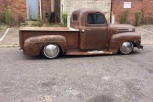 ford f1 pickup 1949 stepside 302 v8 patina hotrod rat rod