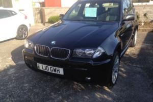 2009 BMW X3 2.0D M SPORT BLACK Photo