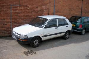 Subaru Justy Mk 1 - spares or repair Collect Glos.