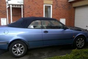 SAAB 900s convertIble 1998 2litre AUTOMATIC