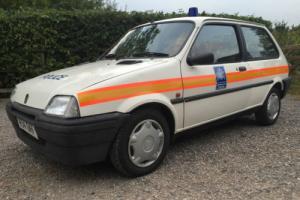 1992 ROVER METRO POLICE CAR / POLICE CAR / METROPLITAN POLICE METRO/ FILM CAR/