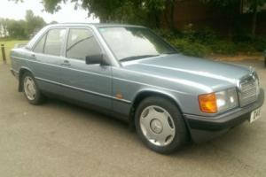 1987 MERCEDES 190E BLUE