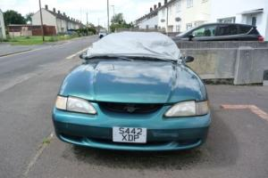 1998 FORD MUSTANG MONARCH AUTO GREEN