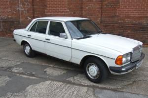 MERCEDES 200 CLASSIC BARN FIND 1984 RESTORATION PROJECT SAME FAMILY FROM NEW