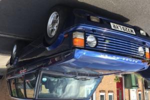 Range Rover Classic Soft Dash 1994. Brooklands Body kit, Gas Convertion, Photo