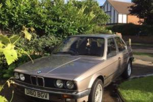 1987 BMW 325I AUTO BEIGE